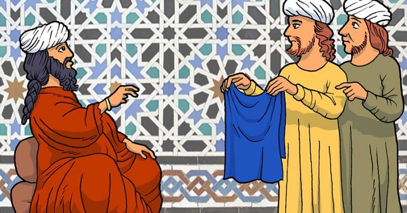 Ressource Externe : 2.4 El tintorero, su cliente y la camisa